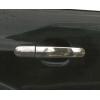 Накладки на дверные ручки (нерж., 4 шт.) для Ford Focus 2005+ (Carmos, car8066)