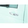 Накладки на дверные ручки (нерж., 4 шт.) для Volkswagen Caddy 2004+ (Carmos, car8269)