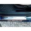 Накладки внутренних порогов Ford Fusion 4D 2002- (Omsa Prime, 260402091)