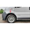 Расширители арок (к-кт., 4 шт.) для Nissan Primastar/ Opel Vivaro/ Renault Trafic 2001-2007 (DDA-TUNING, vir041)
