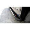 Боковые пороги (RedLine V2) для Volkswagen Transporter (T6) короткая база 2015+ (Erkul, bra118.rln2213)