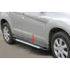 Боковые пороги (Line) для Dodge Journey 2008+ (Erkul, bra020.lin183)