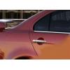 Накладки на дверные ручки (без чипа) для Mitsubishi Lancer X 2008+ (Carmos, car8111)