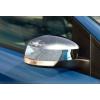 Накладки на зеркала (пластик, 2 шт.) для Ford Focus III 2011+ (Carmos, car0047)