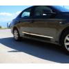 Молдинги на двери (нерж., 4 шт.) для Peugeot 208 2012+ (Omsa Prime, 9600099)