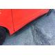 Боковые пороги (Tayga Black) для Audi Q7 2015+ (Erkul, bra133.tab213)