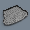 Коврик в багажник (полиуретан, длинный) для Infiniti JX/QX60 2012+ (Novline, 999TLL50BL)