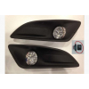 Комплект штатных противотуманных фар (LED) для Ford Fiesta 2013-2017 (Gplast, GPFL104)
