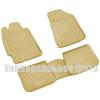 Коврики в салон (полиуретановые, бежевые, 4 шт.) для BMW X3 2010+ (Novline, NLC.05.30.212)