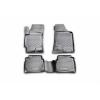Коврики в салон (полиуретановые, 4 шт.) для Fiat 500L HB 2016+ (Novline, ELEMENT1534210k)