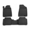 Коврики в салон (полиуретановые, 4 шт.) для Nissan Teana II 2008-2014 (Novline, NLC.36.23.210k)