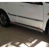 Боковые пороги (D60) для Acura MDX 2006-2013 (ST-LINE, ACMD.06.S1-01.6)
