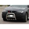 Защита переднего бампера (кенгурятник, D60) для BMW X3 2004-2006 (St-line, BMX3.04.F2-01.6)