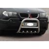 Защита переднего бампера (кенгурятник, D51) для BMW X3 2004-2006 (St-line, BMX3.04.F2-01.5)