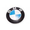Эмблема капота для BMW 82мм (BMW, 51148132375)