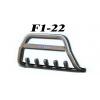 Защита переднего бампера (кенгурятник, D60) для Chery Beat 2010+ (St-line, CHBT.10.F1-22.6)
