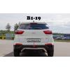 Защита заднего бампера (D60) для Hyundai Creta 2014+ (St-line, HNCR.14.B1-19.6)
