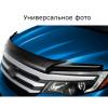 Дефлектор капота (ЕВРО крепеж) для Mitsubishi Outlander 2001-2007 (Novline, REINHD697)