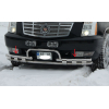 Защита переднего бампера (D60) для Cadillac Escalade GMT 900 2007-2014 (St-line, CDES.07.F3-33.6)