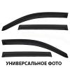 Дефлекторы окон (ветровики) для BMW X6 2008+ (SIM, NLD.SBMWX60832)