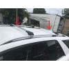 Поперечины на рейлинги (без ключа, 2 шт.) для Ford Custom 2012+ (Erkul, vb1dchr)