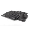 Оригинальные коврики в салон (зад., к-кт. 2 шт.) для Audi A8 2010-2017 (VAG, 4H0061511041)
