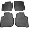 Оригинальные коврики в салон (к-кт. 4 шт.) для Skoda Rapid 2012+ (VAG, 5JB061550)