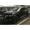 Боковые пороги (Model V2) для Audi Q7 2015+ (Avtm, 4MQ7100103)