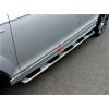 Боковые пороги (Model V1) для Audi Q7 2015+ (Avtm, 4MQ7100107)