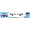 Фары противотуманные для Hyundai Accent 2006-2011 (Avtm, HY-272W (6))