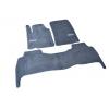 Коврики в салон (Серые, Premium, к-кт. 3 шт.) для Lexus LХ570 2007-2012 (Avtm, GRLX1304)