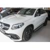 Боковые пороги для Mercedes-Вenz GLE-Class (C292) Coupe 2015+ (Avtm, OEMST11088)