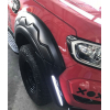 Расширители колесных арок с DRL для Ford Ranger (T7) 2015+ (ASP, TSFDRG-FF16-LED)
