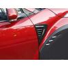 Накладки на передний бампер (крылья) для Toyota C-HR 2016+ (Asp, CPCHRFAB)