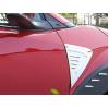 Накладки на передний бампер (крылья) для Toyota C-HR 2016+ (Asp, CPCHRFAC)