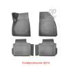 Kоврики в салон (задние, 2 шт.) для Renault Dokker 2012+ (NorPlast, NPA00-C69-051)
