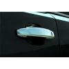 Накладки на дверные ручки (нерж.) для Chevrolet Aveo 2011+ (Omsa Prime, 5210041)