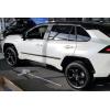 Молдинги на двери для Toyota Rav4 (SV) 2019+ (Automotiva, AT.TOYRAV19.F3)