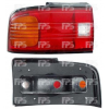 Фонарь задний (правый, рифленое стекло) для Mazda 323 (BG) Sd 1989-1994 (Depo, 216-1939L-UE)