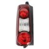 Фонарь задний (левый, 2 дверн. версия, темный) для Citroen Berlingo/Peugeot Partner 2008-2012 (Depo, 552-1934L-UE2)