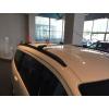 Поперечины на интегрированные рейлинги (с ключем, 2 шт.) для Audi Q3 2011+ (Erkul, v2chr)