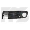 Решетка в бампер (левая, с отв. п/тум.) для Audi A6 2000-2001 (Avtm, 14911)