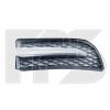 Решетка в бампер (левая, заглушка п/тум. грунтован) для Chevrolet Aveo (T250) Sd 2006-2012 (Avtm, 17089903)