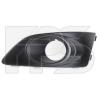 Решетка в бампер (левая, с отв. п/тум.) для Chevrolet Aveo (T300) 2012+ (Avtm, 1712915)