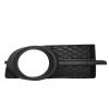 Решетка в бампер (правая, с отв. п/тум. с хромом) для Chevrolet Aveo (T250) Sd 2006-2012 (Avtm, 1708998)