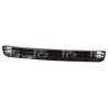 Решетка в бампер (средняя) для Audi A6 1995-1997 (Avtm, 13994)