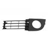 Решетка в бампер (правая, с отв. п/тум., cьемные заглушки) для Audi A6 2001-2005 (Avtm, 14998)