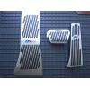 Накладки на педали (M-Style) для BMW (АКПП) (KAI, lngbmwx6)