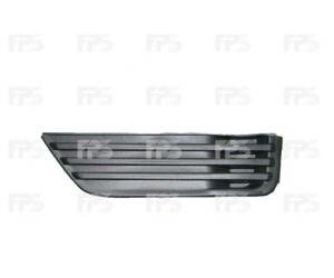 Решетка в бампер (левая, без отв. п/тум., матовая) для Ford Focus 2005-2008 (Avtm, 2533995)