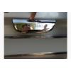Хром накладка над номером (распашные двери, нерж.) для Renault Trafic 2001-2015 (Carmos, car8241)